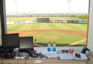 Best Press Box in the Northwest League